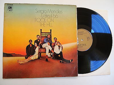 SERGIO MENDES & BRASIL 66 - FOOL ON THE HILL LP EX VINYL UK 1st Press Beatles