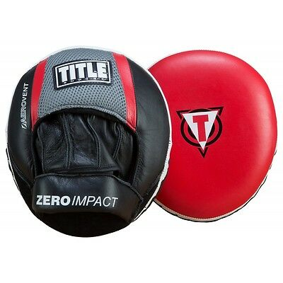 TITLE Boxing Defense Shield Zero-Impact Punch Mitts