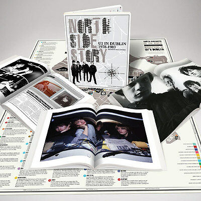 U2 North Side Story Book and Map U2.com Fan Club Membership Gift