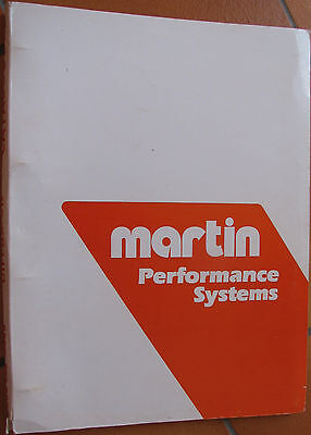 Martin . Motos . 1 Catalogue + 15 Feuillets Recto Verso . Bel Etat D'ensemble .