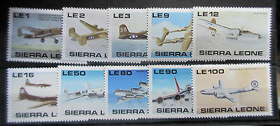 Sierra Leone 1990 50th Anniv of WWII Set. MNH.