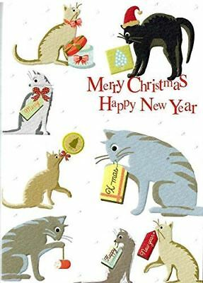 Holiday Cats Boxed Embossed Christmas Cards