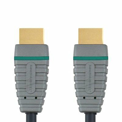 5m HDMIMale To HDMIMale Blue High Speed HDMI Cable - Black