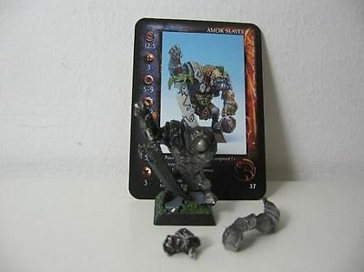Confrontation Rackham Ork Orc - Amok Slayer - grundiert undercoated Metall Metal