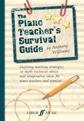 The Piano Teacher Survival Guide Anthony Williams, Text Book Gift Fun Music Xmas