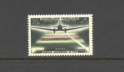 France 1959 SG 1416 Stamp Day Mail Aircraft  MNH