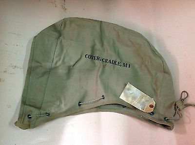 WW2 cradle cover .30 Cal Watercooled Browning NOS Webbing M1 M1917a1 tripod DDAY