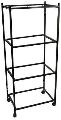 """4 Tiers Stand for 30""""x18""""x18"""" Aviary Bird Cage Black - T813-777"""