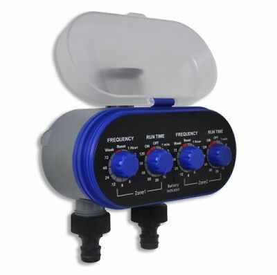 Garden Electronic Automatic Water Timer Irrigation Timer Double Outlet
