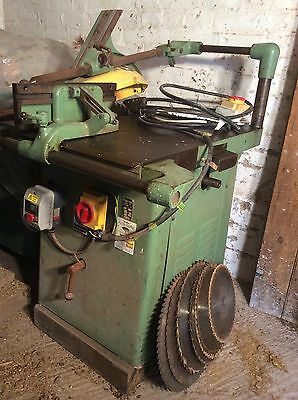 "Wadkin 16"" Table Saw"