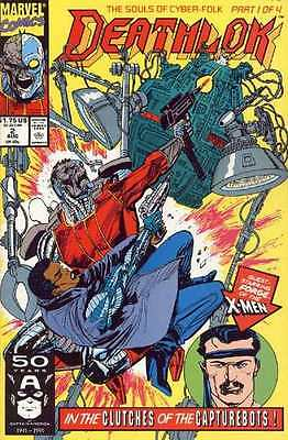Deathlok (1991 series) #2 in Near Mint - condition. FREE bag/board
