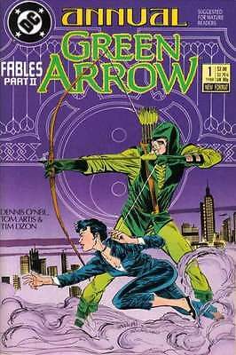 Green Arrow (1988 series) Annual #1 in Near Mint - condition. FREE bag/board