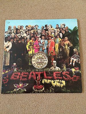 Beatles Sgt Pepper Lonely Hearts Club Band 1967 Stereo Vinyl