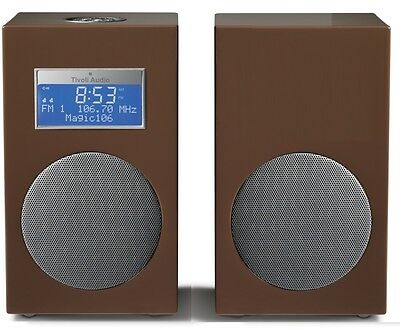 Tivoli Audio MODEL 10 PLUS Chestnut Brown FM/DAB+ Stereo Radio Wecker UVP € 499