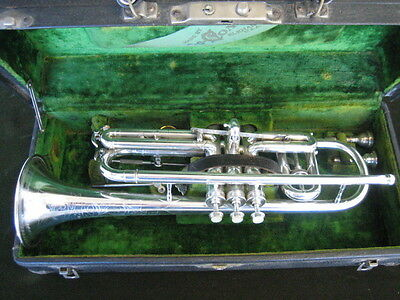 "SUPERB ORIGINAL C.G. CONN 80A ""VICTOR NEW WONDER"" CORNET in Bb/A"