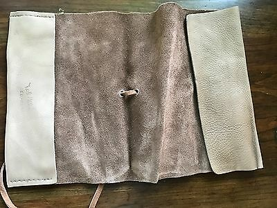 Genuine Leather Brown Journal Diary Notebook, Book Cover Rustic Handmade