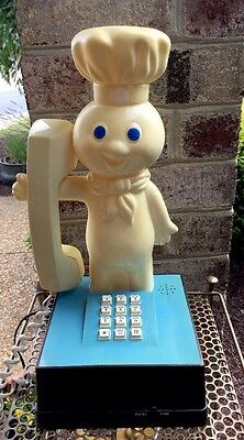 PILLSBURY DOUGHBOY TELEPHONE WORKS Poppin Fresh 1984 Made In Hong Kong