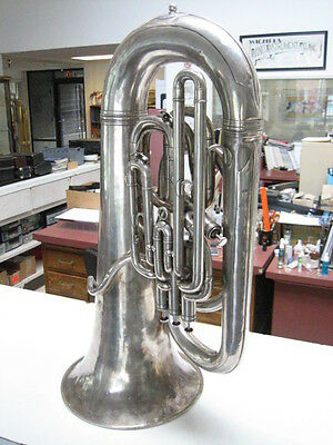 GOOD BOOSEY & HAWKES EEb TUBA, 3 + 1 PISTON VALVES, ALL ORIGINAL!