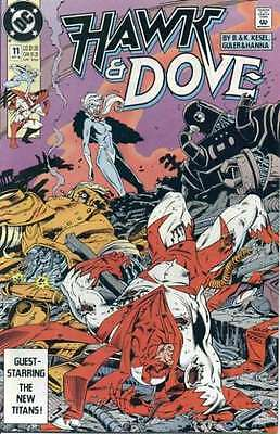Hawk and Dove (1989 series) #11 in Near Mint - condition. FREE bag/board
