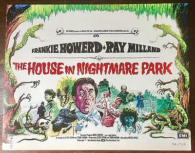 The House in Nightmare Park UK pressbook  * Frankie Howerd * Rare *