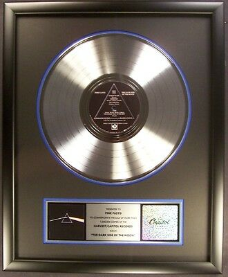 Pink Floyd The Dark Side Of The Moon LP Platinum Non RIAA Record Award