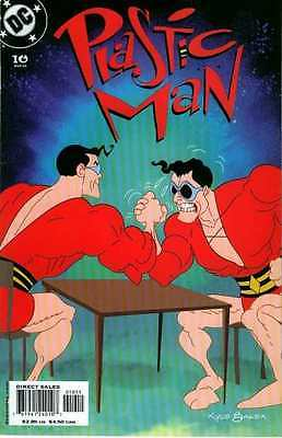 Plastic Man (2004 series) #10 in Near Mint - condition. FREE bag/board