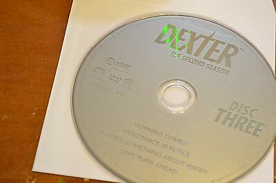 Dexter Second Season 2 Disc 3 Replacement DVD Disc Only 47-87