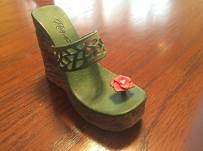 2002 -JUST THE RIGHT SHOE -RAINE COLLECTION-EARTH FIGURINE- Loose