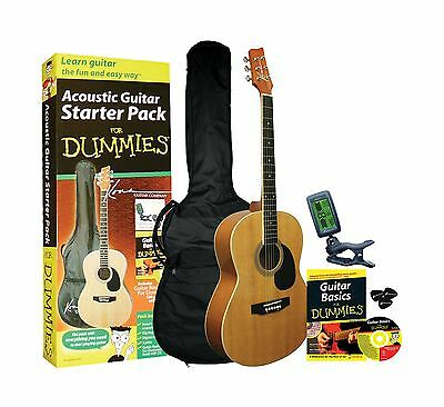Guitar For Dummies Acoustic Guitar Starter Pack includes Guitar Book Audio CD...