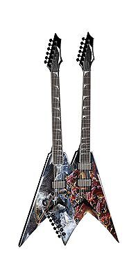 "Dean Dave Mustaine ""Diadem"" Double Neck V Electric Guitar with case (VMNT DBL..."