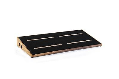 Ruach Kashmir 4 Extra Large Hardwood Pedalboard for Guitar Effects Pedals