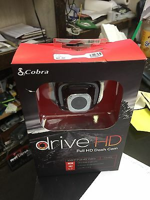 NEW SEALED! Cobra CDR835 Drive HD 1080P Full HD Dash Cam - Free Shipping!