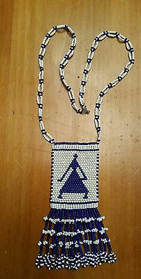Vintage South African Bead Necklace