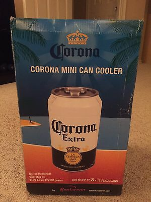 Corona Extra Mini Can Refrigerator Cooler Home or Auto Tailgating Party Dorm NIB
