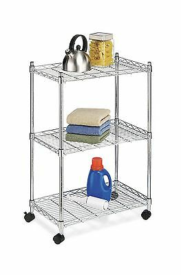 Whitmor 6056-344-N Supreme Cart Chrome