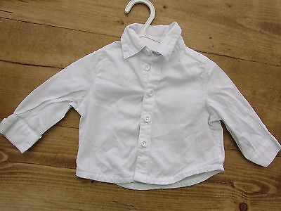 Baby Boys Cotton Shirt Age 0-3 Months
