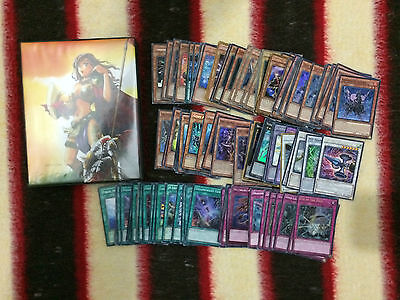 YuGiOh Collection Full Ultra Pro Binder/Folder Plus Mix of Extra Cards