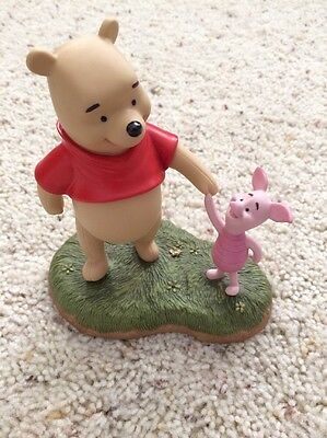 """Disney Pooh And Friends """"Let's Wander And Wonder Together"""" Figurine"""