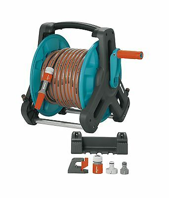 GARDENA 8009-CA Wall-Fixed Hose Reel 50 Set