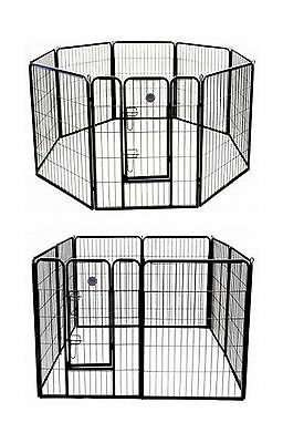 Go Pet Club 40-Inch Heavy Duty Pet Play and Exercise Pen with 8 Panels