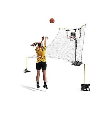 SKLZ Rapid Fire II Make or Miss Ball Return Net 180-Degree