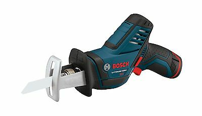 Bosch PS60-102 12-Volt Max Lithium-Ion Reciprocating Saw Kit with (1) High Ca...