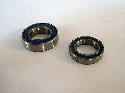 MINIMOTO 40//50CC 6000-2RS HYBRID CERAMIC Si3N4 ABEC5 BALLBEARING KIT 4 PIECES