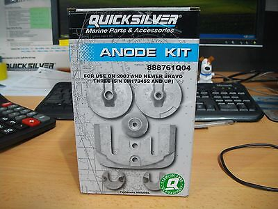 Anode Kit For Use On 2003 And Newer Bravo Three 97-888761Q04