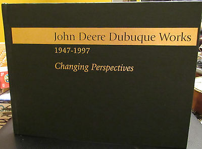 Rare 1947 To 1997 John Deere Dubuque Iowa Works Green Hardcover Book