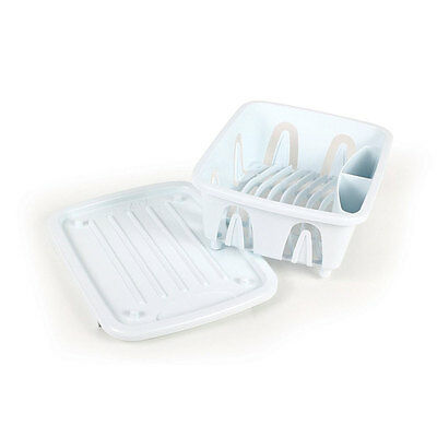 The Mini Dish Drainer is perfect for use in kitchens with limited space.
