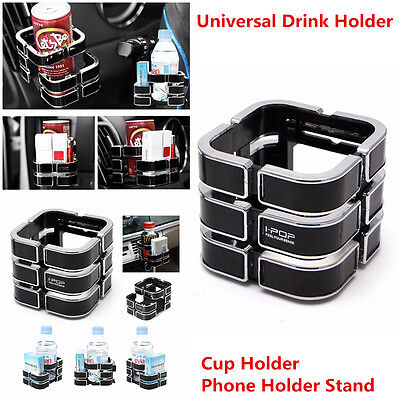 Multifunction Car A/C Air Vent Outlet Magic Cube Cup Holder Phone Holder Stand