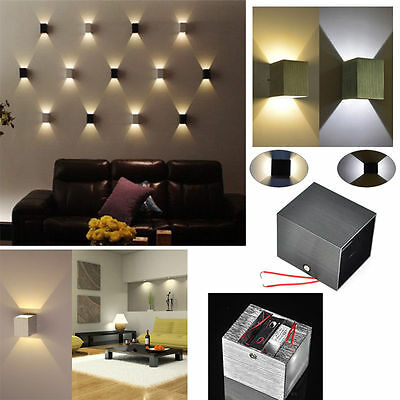 LED Square Wall Lamp Hall Porch Walkway Bedroom Livingroom Home Fixture Light