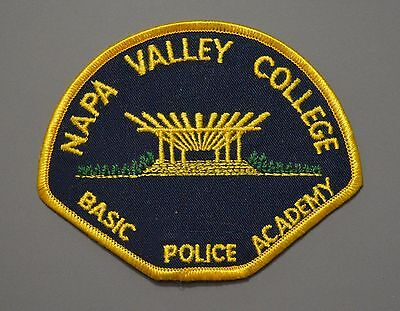 Napa Valley College California Police Academy Patch #2