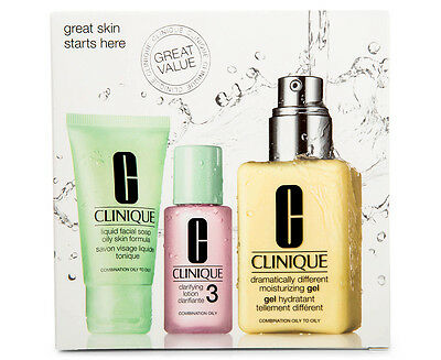 Clinique Exclusive Great Skin Starts Here 3 Set